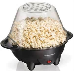 popcorn in the kettle