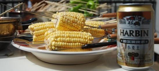 bbq corn image