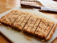 Golden Strips Bean Dregs Almond Cake images14