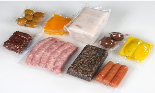 vacuum packaged food processed with automatic vacuum packing machine