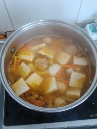 Pickled Cabbage and Tofu Fresh Vegetable Soup image7