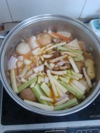 Pickled Cabbage and Tofu Fresh Vegetable Soup image8