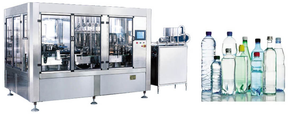 Fruit Juice Mineral Water Filling Machine