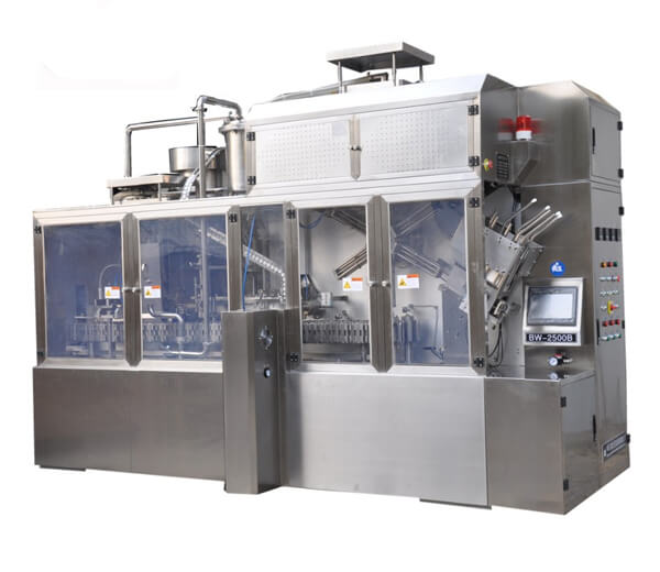 Full automatic Gable Top Carton Filling Machine