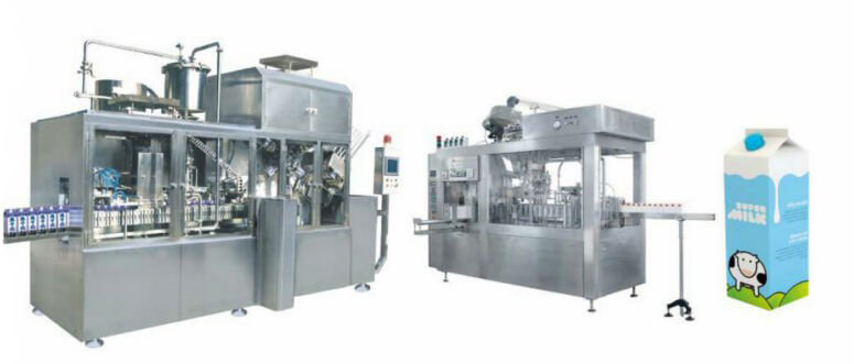 Gable Paper Box Filling and Packing Line