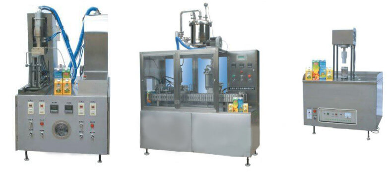 Semi-auto Gable Top Carton Filling Machine