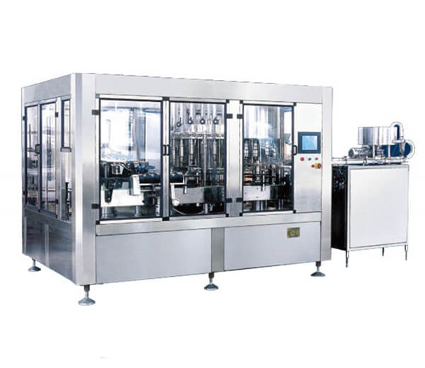fruit juice and bottle water filling capping machine