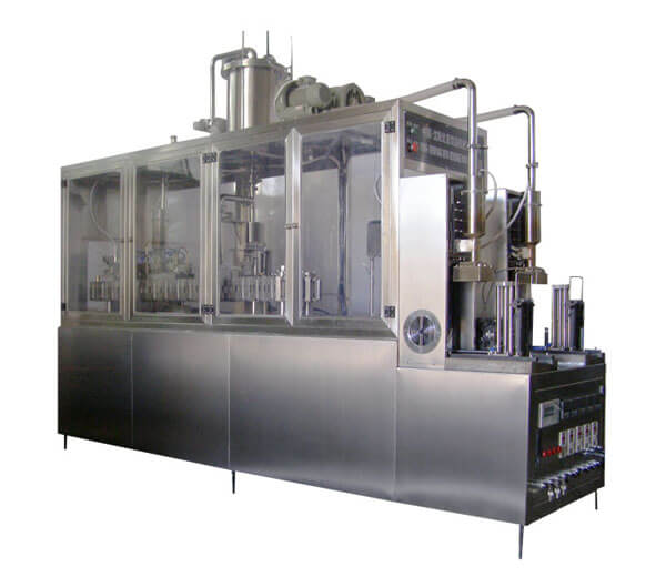 semi automatic fermented milk filling machine