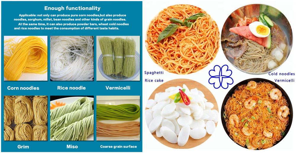 Automatic Rice Noodle Machine Applications