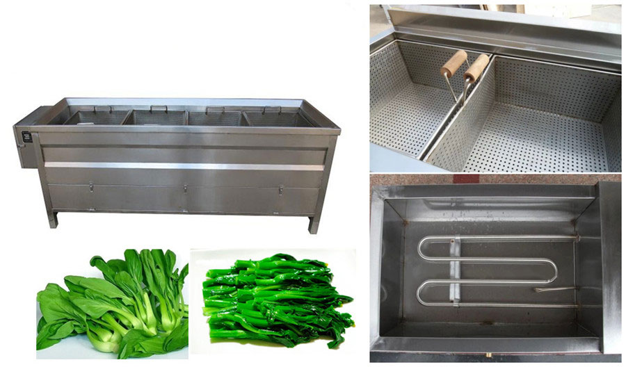 Basket Type Food Blanching Machine Features