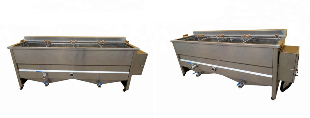 Basket Type Food Blanching Machine Introduction