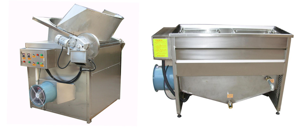Brief Introduction of French Fries Frying Machine