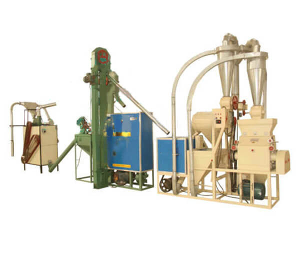 Corn Fine Milling Production Line