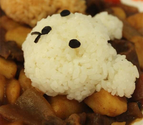 Cute Bear Curry Rice