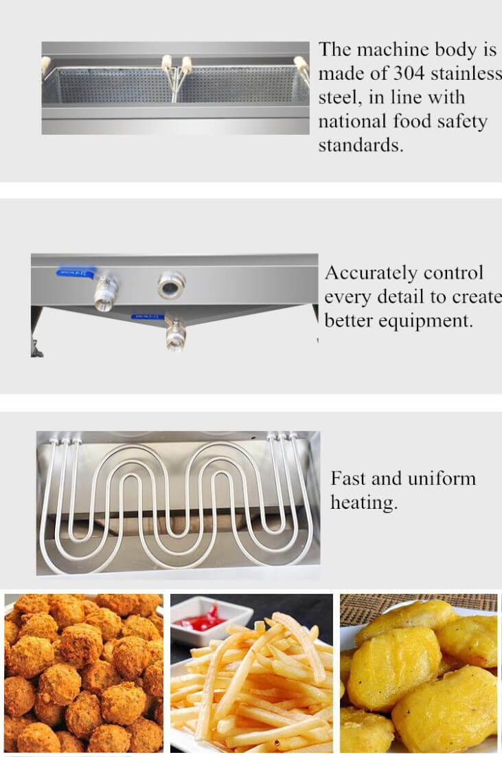 Food Frying Machine Advantages