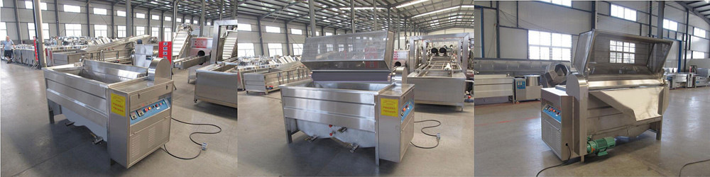Food Frying Machine Structure