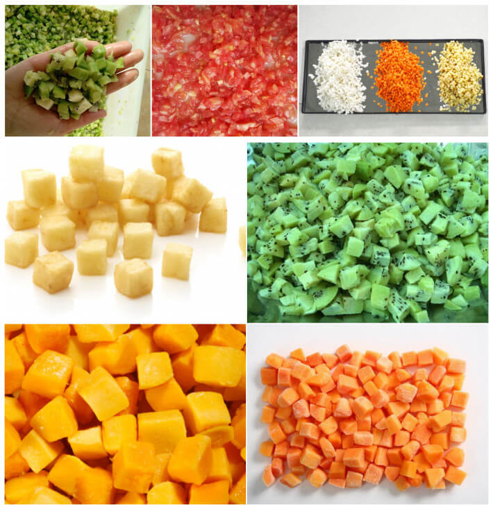 Fruit Vegetable Dicer Machine Applications