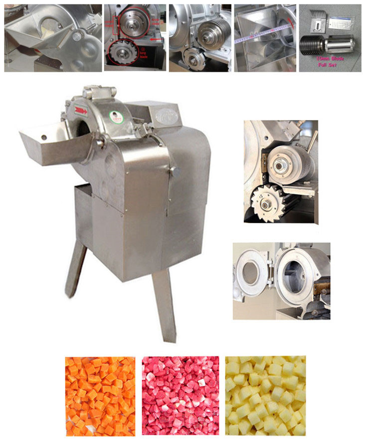 Fruit Vegetable Dicer Machine Features