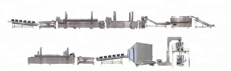 Fully-auto Potato Chips Production Line