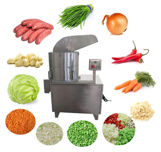 Garlic Ginger Granule Dicing Machine Application