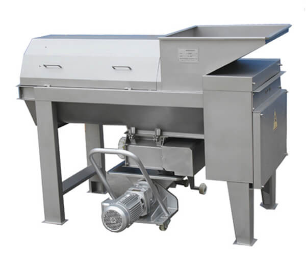 Grape Destemming and Crushing Machine