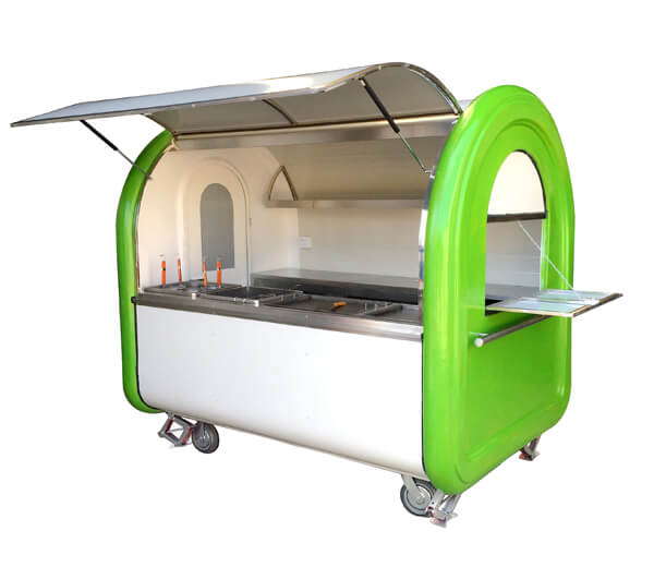 Hand Push Food Trailer