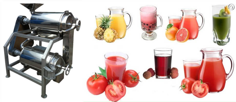 Industrial Fruit Vegetable Puree Machine