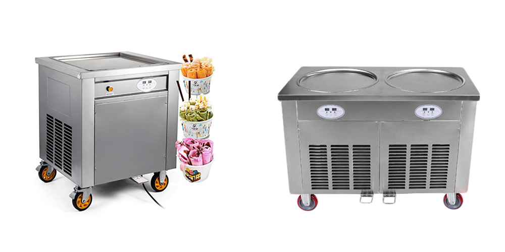 Introduction of Fried Ice Machine