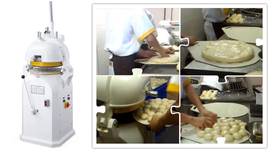 Manual Dough Divider Rounder