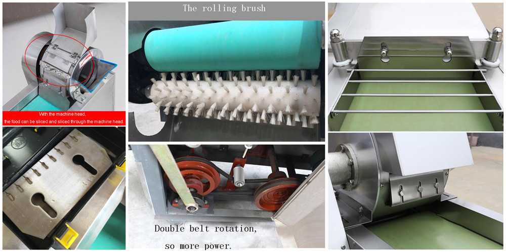 Multi-function Vegetable Cutter Machine Structure
