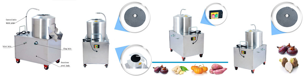 Potato Washing and Peeling Machine Introduction