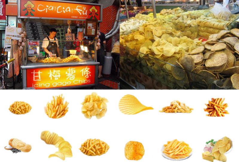 Semi-automatic Potato Crisps Production Line Application