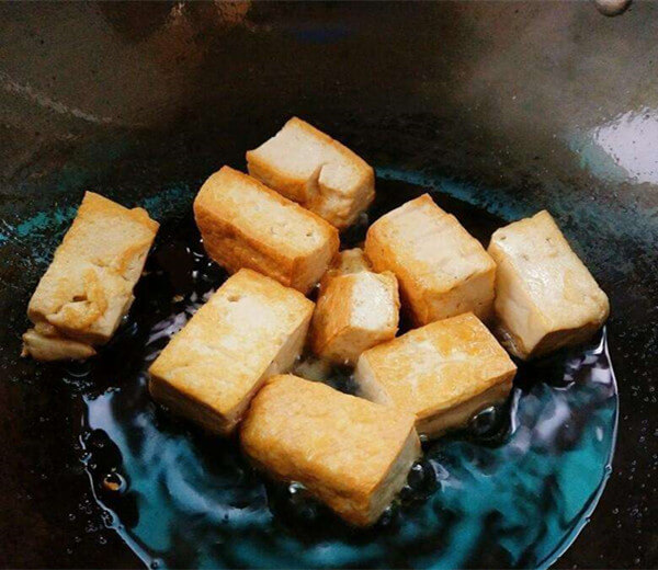 Spicy Fried Tofu Recipe
