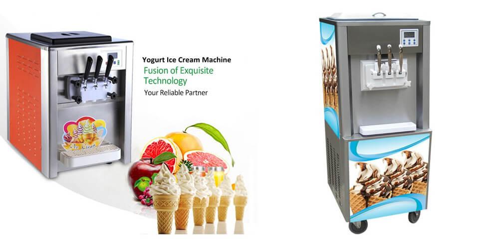 Yogurt Ice Cream Machine Introduction