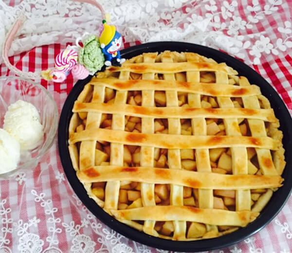 Yolk Apple Pie