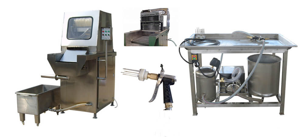 automatic and manual brine injector