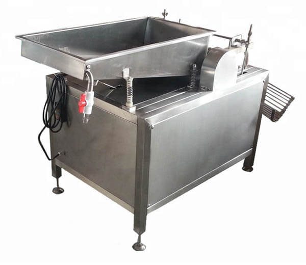 automatic boiled quail eggs peeling machine