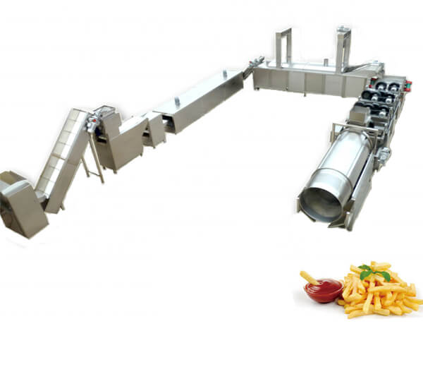 automatic french fries production line