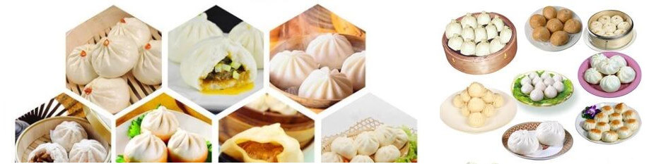 automatic steamed stuffed bun making machine application