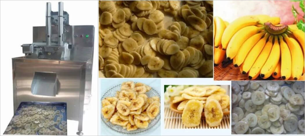 banana chips cutting machine