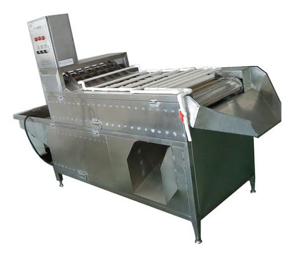 boiled chicken egg shelling machine
