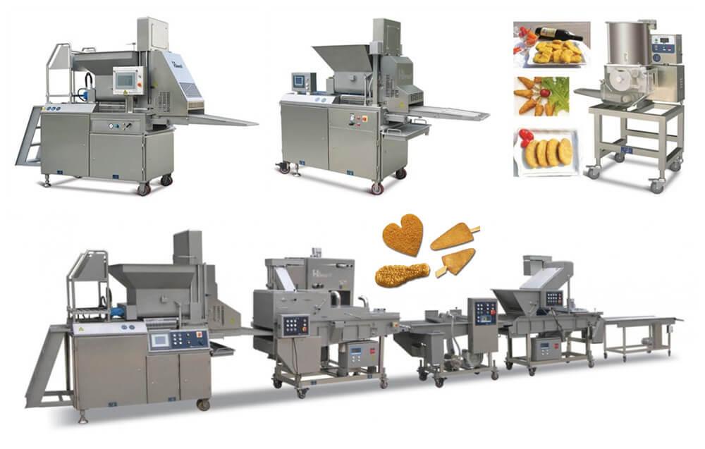 burger patty machine