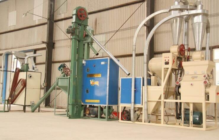 complete maize milling equipment