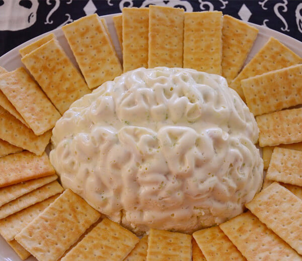 creamy chicken brain dip