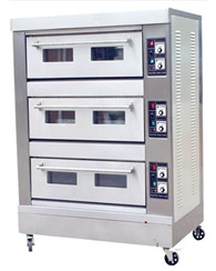 electric bread oven 3 layers 6 trays
