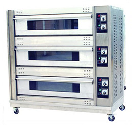 electric cake oven 3 layers 9 trays