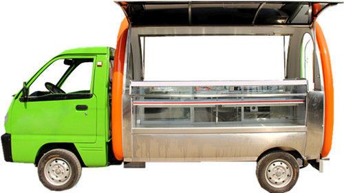 Four-wheeled Mobile Food Truck Application