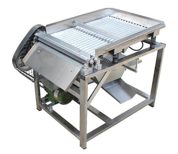 fresh green soybean peeling machine