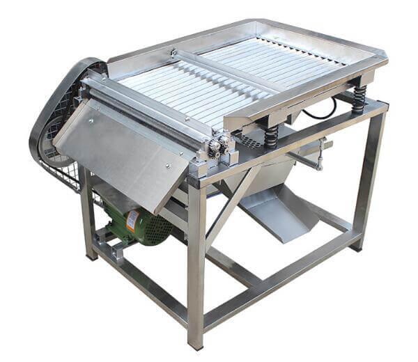 fresh green soybean peeling machine