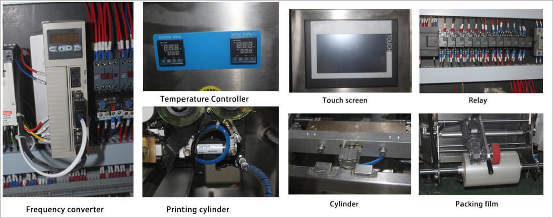 fully automatic liquid filling packing machine details